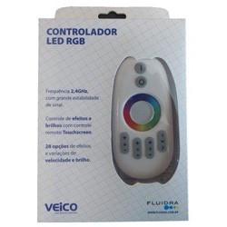 comando para led com controle touch screan Veico