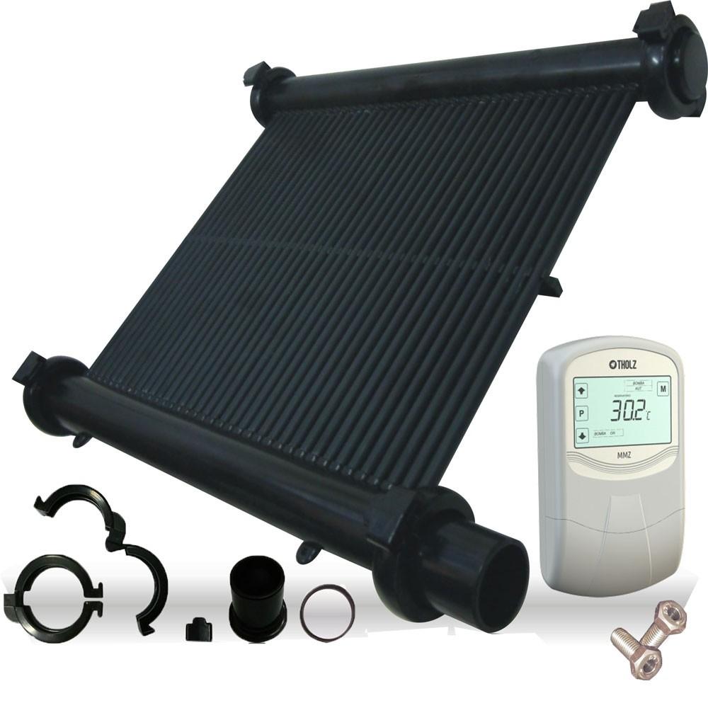 kit solar piscina 6x3