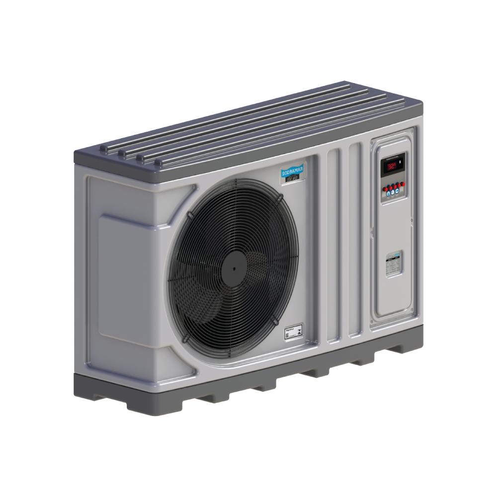 trocador de calor Sodramar th 40