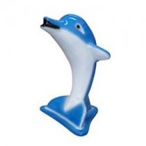 cascata para piscina em fibra golfinho