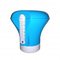 clorador flutuante para piscina com termômetro