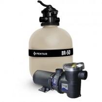 filtro br50 + bomba 3/4CV
