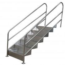 escada para piscina fisionterapia