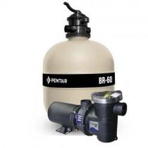 filtro e bomba para piscina 1,0cv