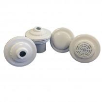Kit dispositivos piscina fibra veico completo