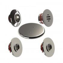 kit dispositivos em inox 316