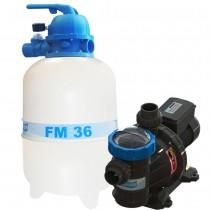 Filtro FM-36 e Bomba 1/3cv BMC-33