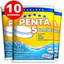 pastilha de cloro penta 10 unid