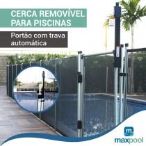 portão removível para proteção de piscina