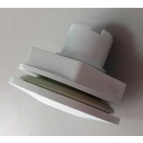 "Adaptador para Piscina de Fibra para Led rosca 1/2"" ou 20mm"