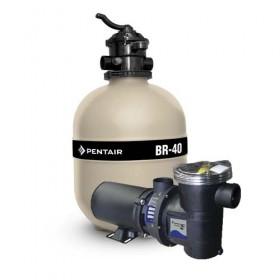 Filtro e Bomba piscina BR40