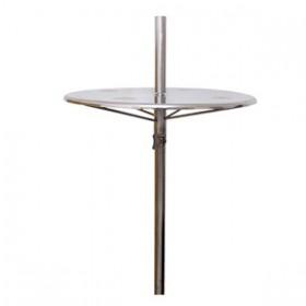 Mesa para Piscina em inox com regulagem de altura