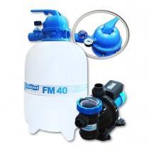 Filtro FM-40 e Bomba 1/2cv BMC-50 Mono p/ piscinas de até 53 mil litros