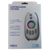Comando para Led com controle Touch Screan