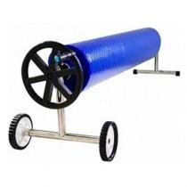 Enrolador para capa termica de piscina