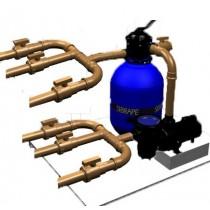 Kit Hidraulico para Casa de Máquinas Completa