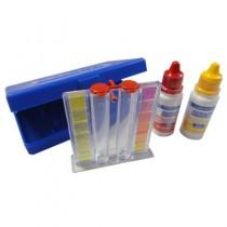 Kit Estojo de Teste de pH e Cloro