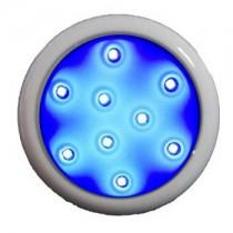 Led 9w Azul Policarbonato