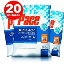 PASTILHA DE CLORO - 3 EM 1 - HTH PACE - 200g 20 UNIDADES