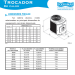 dimensionamento trocador de calor sodramar sd40